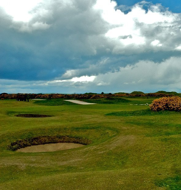 Links golf and weather