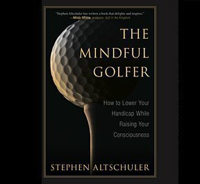 The Mindful Golfer book, hardback, kindle, and audible editions, are now available. Please click on this photo to order your copy online!